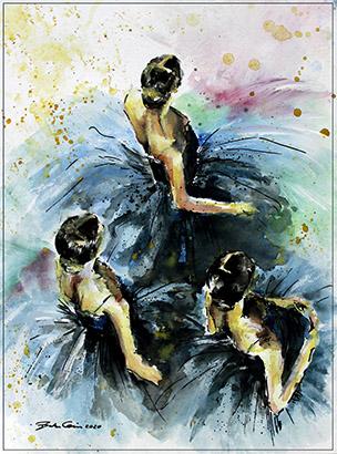 Ballettprobe