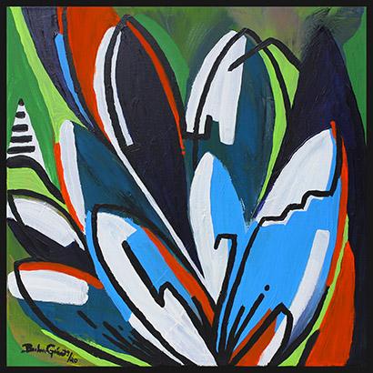 Blätter abstrakt