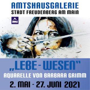 """Kunstausstellung """"LEBE-WESEN"""" in der Amtshausgalerie"""
