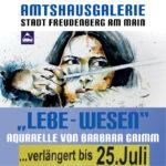 """Verlängerung der Kunstausstellung """"LEBE-WESEN"""" in der Amtshausgalerie"""
