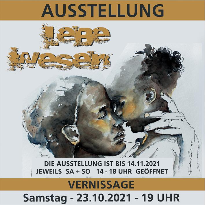 """2. Kunstausstellung """"LEBE-WESEN"""" im Löw Haus in Klingenberg"""